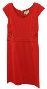 Madison Marcus Lace Jersey Bright Party Dress