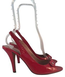 Calvin Klein Slingback Red Pumps
