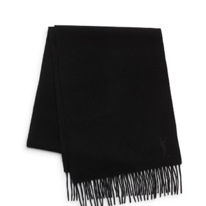 Saint Laurent Wool & Cashmere Scarf