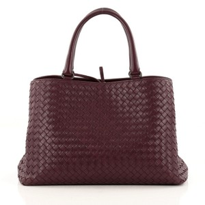 Bottega Veneta Nappa Tote in Burgundy