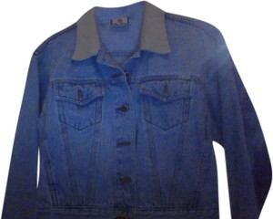 Bill Blass Cordary Collar Gently Used Denim Light Weight Brand New Light Blue Womens Jean Jacket