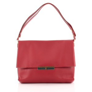 Céline Celine Leather Shoulder Bag
