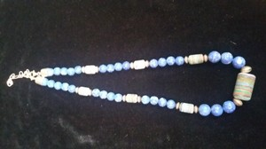 DTR DTR sterling silver lapis necklace