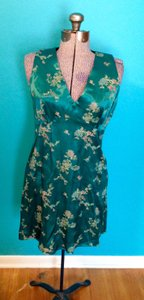 Maurices short dress Asian Floral Sleeveless Smooth Zipper on Tradesy