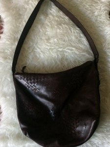 Bottega Veneta Brown Leather Shoulder Bag
