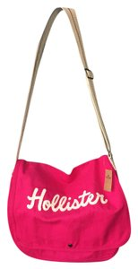 Hollister Messenger Tote PINK Messenger Bag