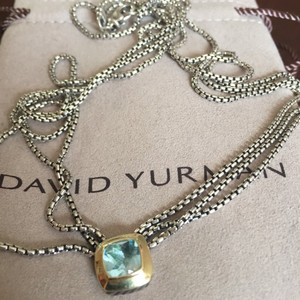 David Yurman David Yurman Blue Topaz Necklace