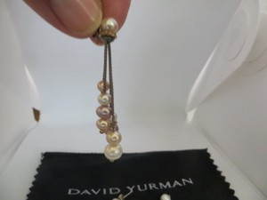David Yurman David Yurman Cluster Pearl Earrings