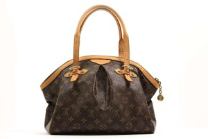 Louis Vuitton Tivoli Gm Satchel in Brown