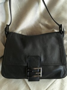 Fendi Genuine Leather Shoulder Bag