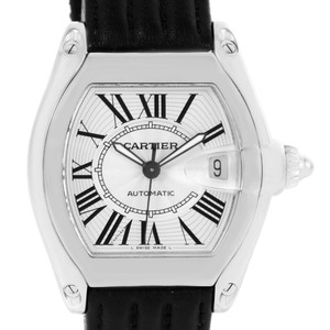 Cartier Cartier Roadster Mens Steel Large Silver Dial Watch W62025V3
