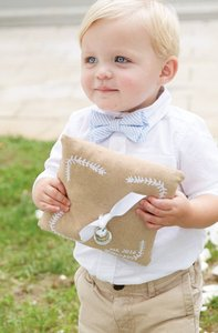 2 Adorable Ring Bearer Pillows