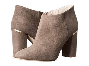 Kate Spade Ankle Suede Gold Taupe Boots