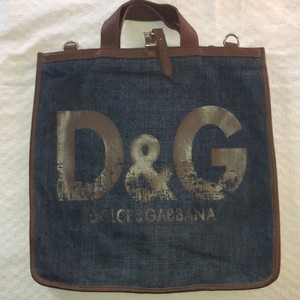 Dolce&Gabbana Denim Messenger Bag