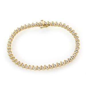 Avital & Co Jewelry 1.75 Carat Diamond Tennis Bracelet 14k Yellow Gold
