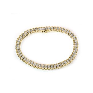 Avital & Co Jewelry 0.85 Carat Diamond Tennis Bracelet 14k Yellow Gold