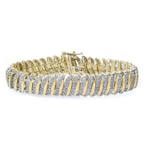Avital & Co Jewelry 5.00 Carat Diamond Tennis Bracelet 10K Yellow Gold