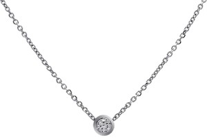 Avital & Co Jewelry 0.35 Carat 14k White Gold Diamond Solitary Pendant