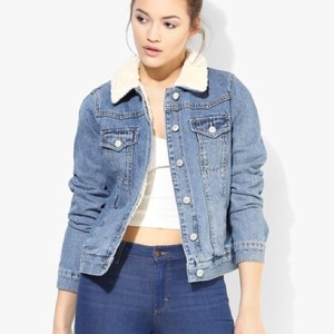 Topshop Womens Jean Jacket