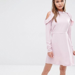 ASOS short dress Pink on Tradesy