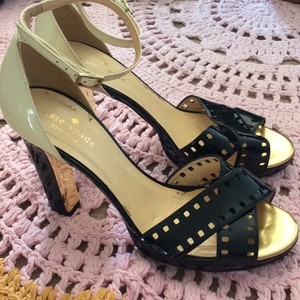 Kate Spade Black, cream and gold Formal