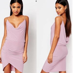 ASOS short dress Lilac on Tradesy
