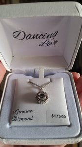 Dancing Love Dancing Love diamond necklace
