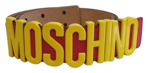 Moschino Moschino McDonalds Leather Belt