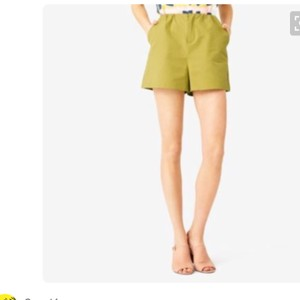 Kate Spade Dress Shorts Charteuse