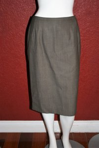 René Lezard Skirt Brown