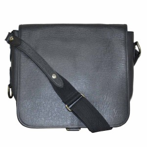 Louis Vuitton Andrei Taiga Black Messenger Bag