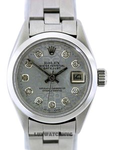 Rolex LADIES ROLEX DATEJUST S/S DIAMOND JUBILEE DIAL WATCH