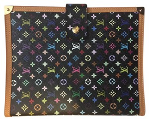 Louis Vuitton Louis Vuitton Multicolor Noir Agenda GM