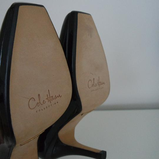 Cole Haan Nike Air Classic Patent Leather Black Pumps