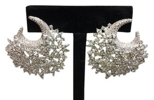 Cubic Zirconia Crystal Rhinestone Earrings Bridal Bridesmaid Gifts