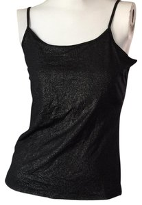 White House | Black Market Top Black shimmer