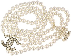Chanel Chanel Pearl Two Way Belt/Necklace