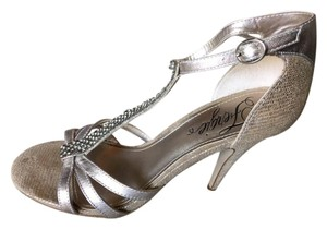 Fergie Silver Pumps