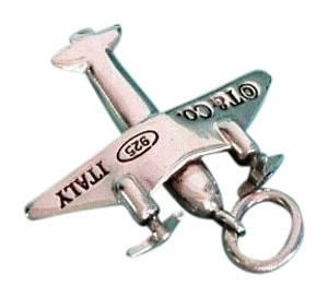 Tiffany & Co. Authentic Tiffany & Co Sterling Silver Airplane Charm