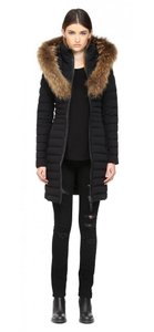 Mackage Down Fur Leather Coat