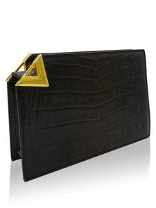 Valentino Brown Clutch