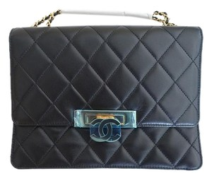 Chanel Lambskin Gold Hardware Shoulder Bag