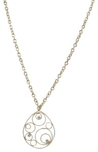 Roberto Coin Roberto Coin 18K Yellow Gold .06tcw Diamond Mauresque Pendant Necklace