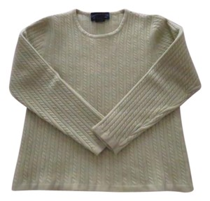 Charter Club Cashmere Cable-knit Crew-neck Soft Sweater