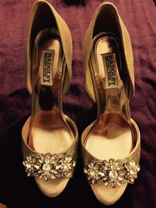 Wedding Shoes Gold Giana Embellished Wedding Shoes