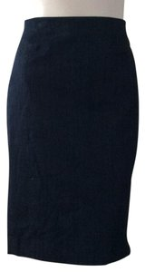 White House | Black Market Skirt Dark denim blue