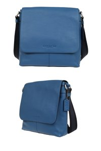 Coach blue Messenger Bag