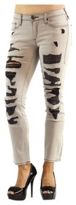 True Religion Women Clothing Womens Skinny Jeans-Distressed