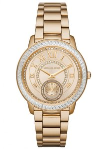 Michael Kors Michael Kors Madelyn MK6287 Gold Stainless Pave Crystal Glitz Watch