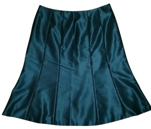 Calvin Klein Fit And Flare Trumpet Skirt Dark Turquoise